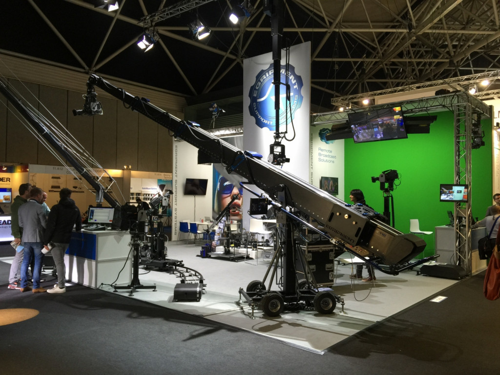 Xtreme T10 camera cranes - Egripment Support Systems